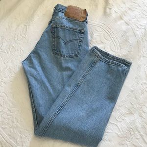 Vintage | Levi's 501 High Waisted Mom Jeans